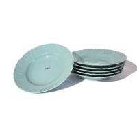 bitossi-romantic-piatto-fondo-turchese-forma-design