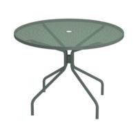 EMU-cambi-tondo-tavolo-verde-forma-design