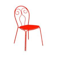 EMU-caprera-sedia-rosso-forma-design