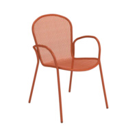 EMU-ronda-sedia-rosso-forma-design