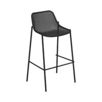 EMU-round-sgabello-nero-forma-design