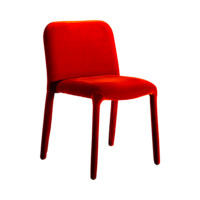 Miniforms-pelè-velvet-rosso-forma-design