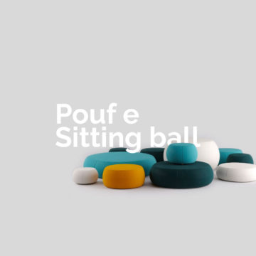 Pouf e Sitting Ball