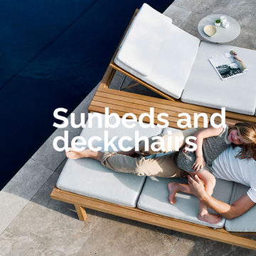 Sunbeds and Deckchairs