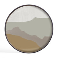 20459_Sand_Wabi_Sabi_glass_tray_front_vassoio da tavola_table_tray