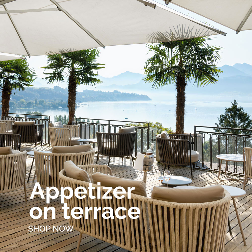 Forma Design - Shop by The Look - Appetizer on terrace